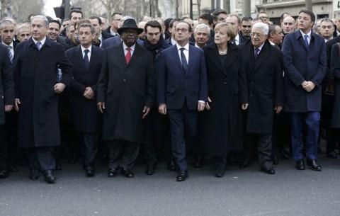 Corteo Parigi 2