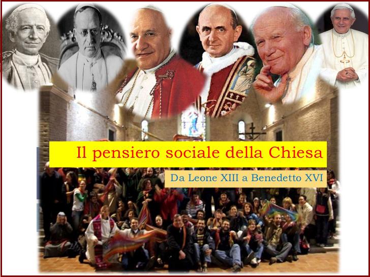 Il pensiero sociale della chiesa